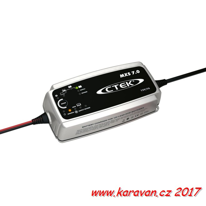 Univerzální automatický dobíječ MULTI XS 7000 CTEK