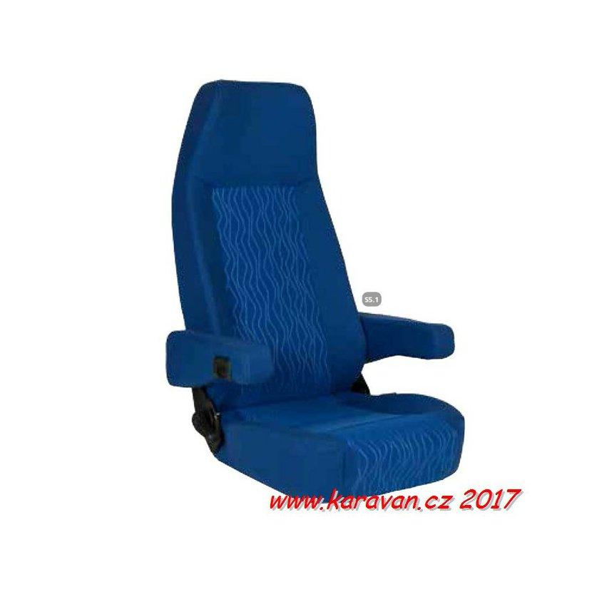 Anatomické sedadlo pilot Sportscraft S5-1 potah Atlantic blau 864f15f507