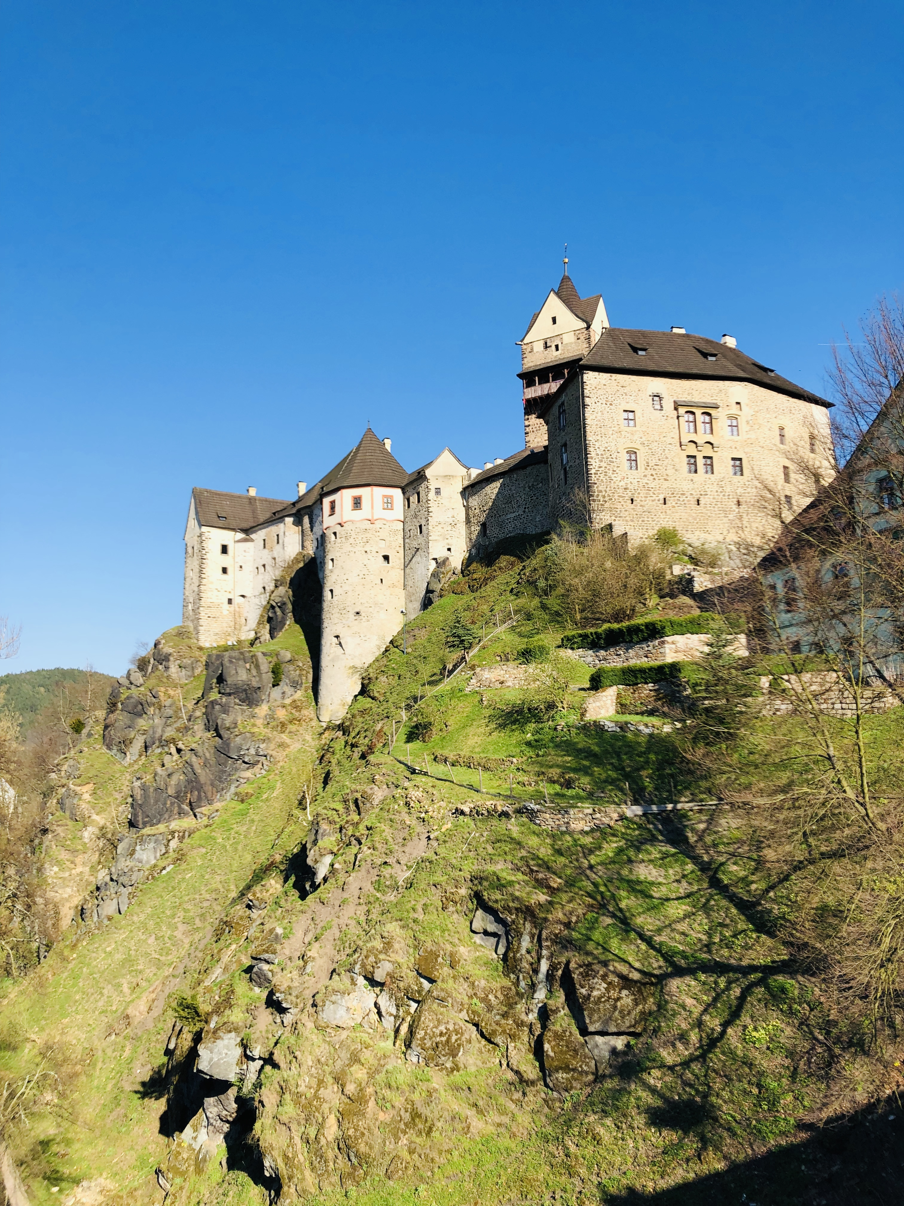 zámek Loktuše